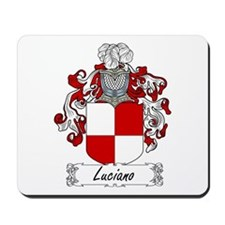 Luciano Family Crest Mousepad