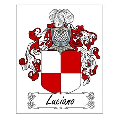 Luciano Family Crest Posters