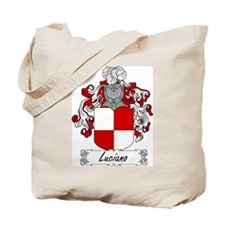 Luciano Family Crest Tote Bag