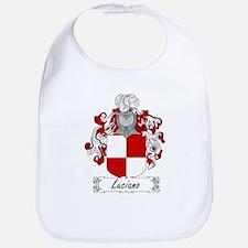 Luciano Family Crest Bib