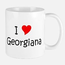 Cute I love georgiana Mug