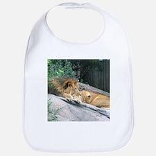 Picturesque Lions Bib