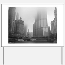 Chicago Rain Yard Sign