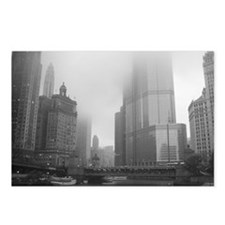 Chicago Rain Postcards (Package of 8)