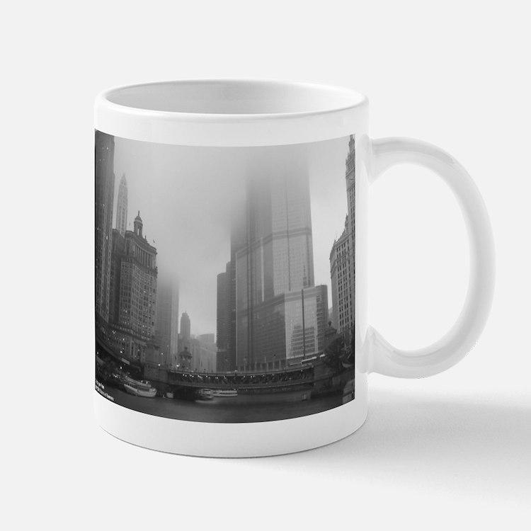 Chicago Rain Small Small Mug