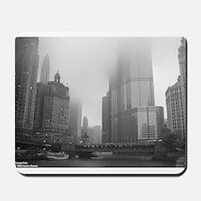 Chicago Rain Mousepad