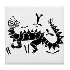 Moche Dragon Tile Coaster