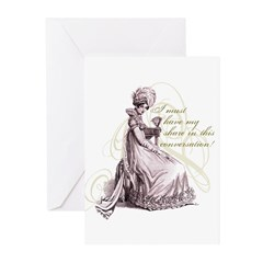 Conversation Greeting Cards (Pk of 20)