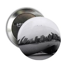 """Chicago Reflections 2.25"""" Button"""
