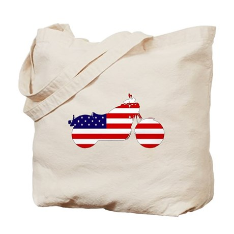 American Harley Davidson Tote Bag