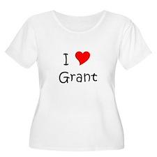 Cute I heart grant T-Shirt