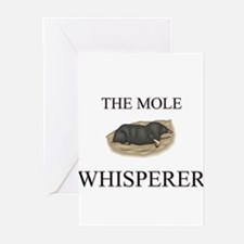 The Mole Whisperer Greeting Cards