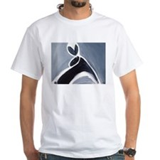 study in black, white and gre Shirt
