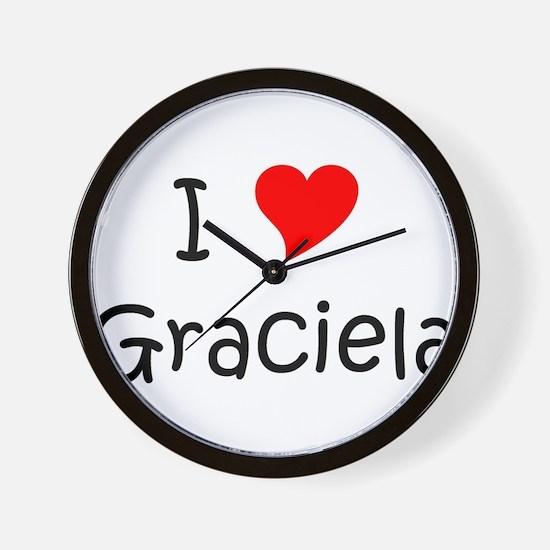 Unique Graciela Wall Clock