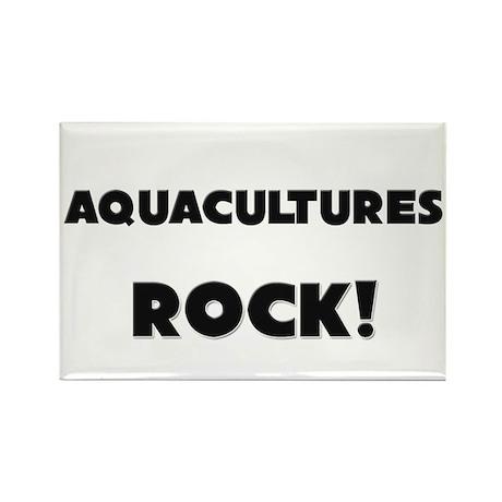 Aquacultures ROCK Rectangle Magnet