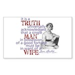 Truth Rectangle Sticker 10 pk)