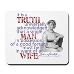 Truth Mousepad