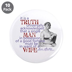 "Truth 3.5"" Button (10 pack)"