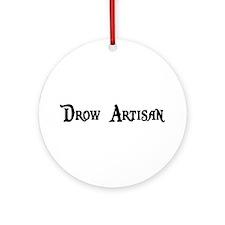 Drow Artisan Ornament (Round)