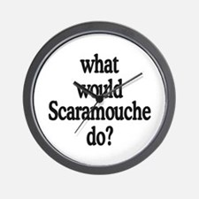 Scaramouche Wall Clock