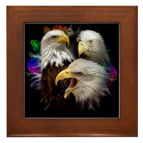 Eagle Colors Framed Tile