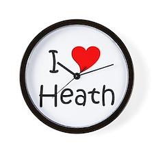 Love heath Wall Clock