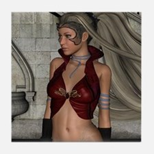 Warriorress Tile Coaster