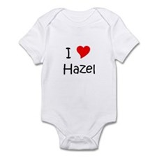 Cute I love hazel Infant Bodysuit