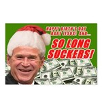 Merry Xmas Suckers Bush Postcards (Package of 8)