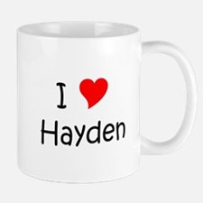 Unique Hayden Mug