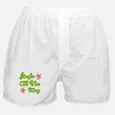 'Jingle All The Way' Boxer Shorts