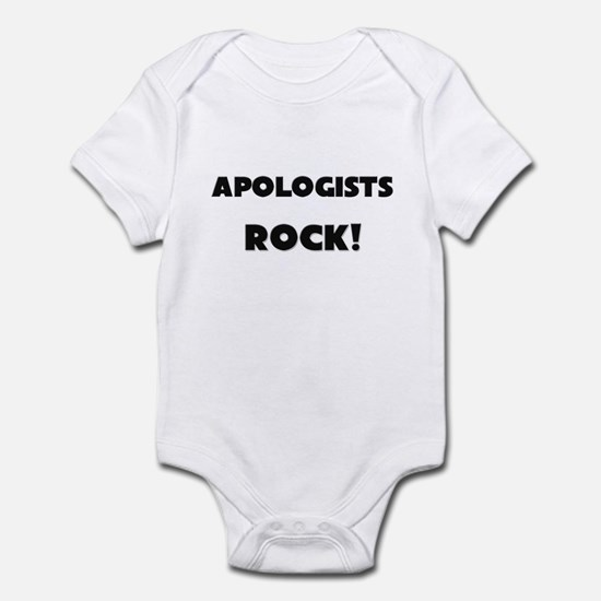 Apologists ROCK Infant Bodysuit