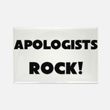 Apologists ROCK Rectangle Magnet
