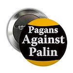 Pagans Against Palin campaign button