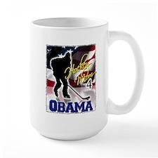 Hockey Mom for Obama Mug