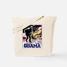 Hockey Mom for Obama Tote Bag