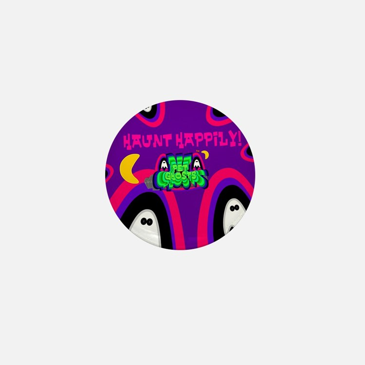 Pet Ghosts!&#8482 Mini Button