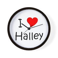 Unique Hearts Wall Clock