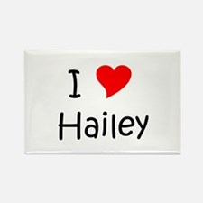 Cute Hailey Rectangle Magnet