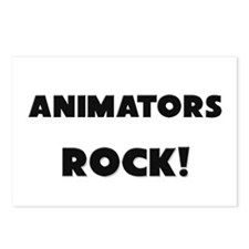Animators ROCK Postcards (Package of 8)