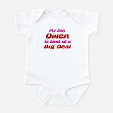 My Son Owen - Big Deal Infant Bodysuit