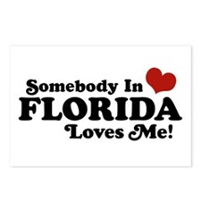Somebody In Florida Loves Me Postcards (Package of