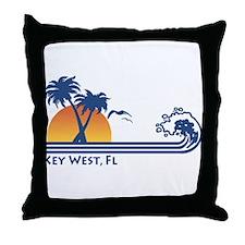 Key West Throw Pillow
