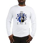 Madia Family Crest Long Sleeve T-Shirt