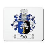 Madia Family Crest Mousepad