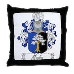 Madia Family Crest Throw Pillow