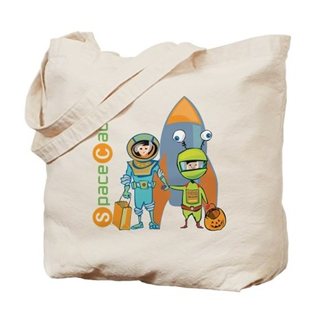 Halloween Space Cadets Tote Bag