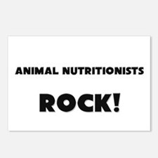 Animal Nutritionists ROCK Postcards (Package of 8)
