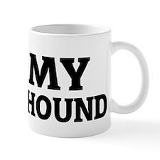 I Love My Plott Hound Mug
