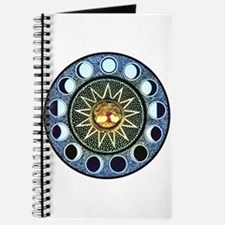 Moon Phases Mandala Journal